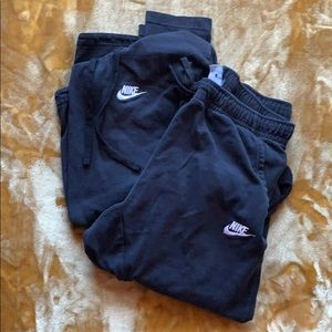Black Nike Sweat Suit